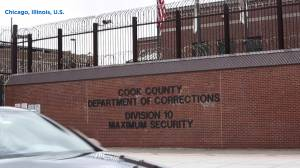 Coronavirus outbreak: inmates at Chicago prison hang 'we're dying' signs after 276 test positive for COVID-19