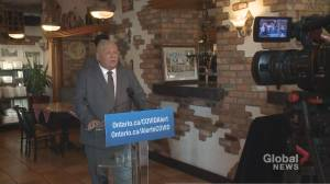Doug Ford denounces those spreading COVID-19 disinformation