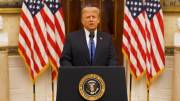 Play video: Trump touts administration's accomplishments, wishes Biden 'luck' in farewell address