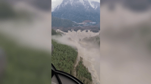 Landslide causes tsunami-like wave on B.C.'s central coast (02:08)