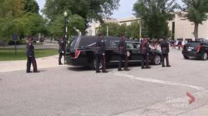 Funeral held for Toronto police Const. Jeffrey Northrup (02:16)
