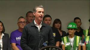 California governor says next 72 hours will be challenging as high winds expected