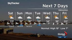 Edmonton weather forecast: Sept. 6