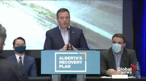 Premier Kenney urges 'responsible use of freedom' to bring down COVID-19 cases (01:53)
