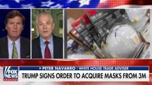 3M will continue to export masks to Canada: White House trade adviser Peter Navarro