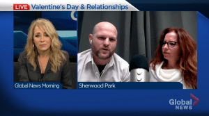 Alberta life coach stresses real connection on Valentine's Day (05:44)