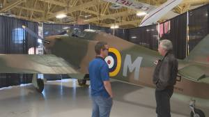 Restored Second World War aircraft returns to Calgary