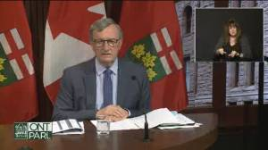 Ontario's outgoing chief medical officer Dr. Williams reflects on time in role (03:53)