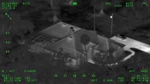 Police in Florida release footage of standoff with heavily-armed teens (02:41)
