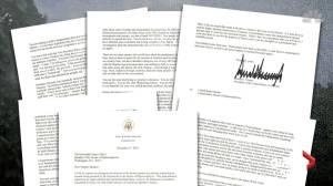 Trump blasts Nancy Pelosi, impeachment process in six-page letter on eve of vote