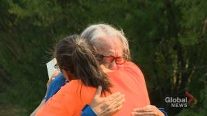 Search for remains begins at Delmas residential school site (02:27)