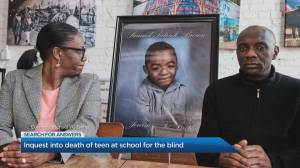 Inquest into death of teen at school for the blind in Brantford, Ont.