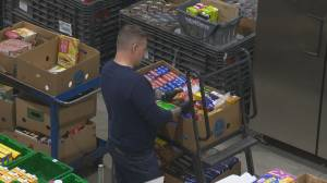 The Central Okanagan Food Bank is making an urgent appeal for donations as it sees record number of people reaching out for help (02:06)