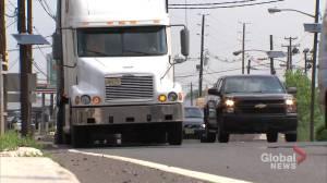 Coronavirus: Truck drivers working nonstop to make sure deliveries are met