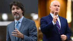 Liberals keep edge in support over Tories, NDP: Ipsos Poll (03:28)