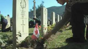 Hong Kong remembers its Canadian Second World War defenders