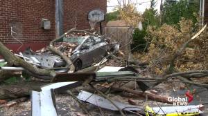 Fall storm wreaks havoc in Quebec