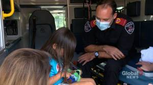 Responders honoured for saving drowning 5-year-old girl in Saskatchewan