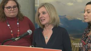 Notley says seniors can expect cuts to drug coverage and financial benefit