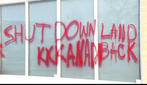 Manitoba RCMP's Winnipeg HQ, Dan Vandal's office, CMHR vandalized amid protests
