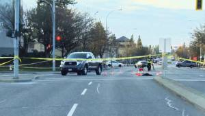 Pedestrian killed after truck collision in Abbotsford