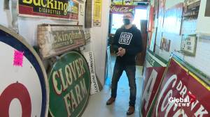 Edmonton antique shop finds new life through young owner (01:35)