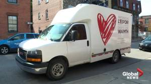 Share the Warmth delivery truck breaks down, endangering food security for hundreds of Montreal families (02:17)