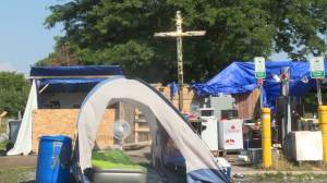 Belle Park encampment extended to July 31