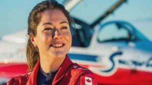 Kamloops to honour Snowbirds Captain Jennifer Casey (01:47)