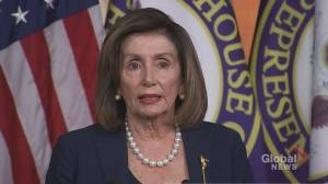 Pelosi says attorney general has been 'implicated' in Ukraine aid controversy