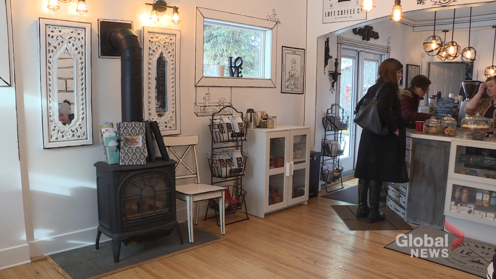 Alberta Coffee Shop Turns Two Dimensional Watch News Videos Online
