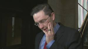 Pierre Poilievre gets emotional over decision not to pursue Conservative leadership