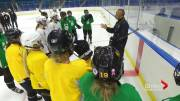 Play video: Huskies women's hockey team ready for season full of youth and excitement