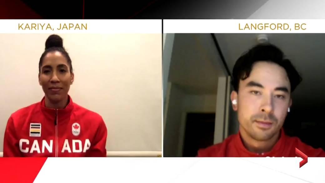 'Miranda Ayim, Nathan Hirayama named Canada's flag-bearers for Tokyo Olympics'