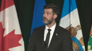 Mayor Don Iveson speaks at Edmonton memorial for Iran plane crash victims: 'We are so sorry for your loss'