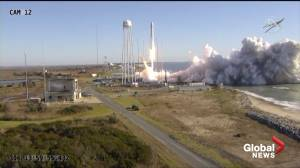 Cargo craft lifts off for ISS with first oven, baking ingredients