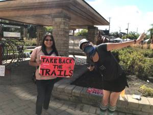 Peterborough women come together to Take Back the Trails