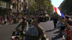 Paris celebrates 75th anniversary of city's liberation from Nazi occupation