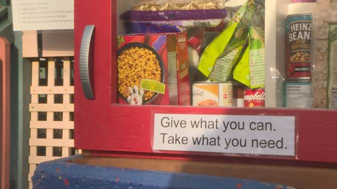 Click to play video: B.C. community food pantry helping neighbours in need