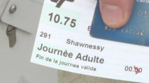Calgary man says he was denied bus rides because tickets were printed in French