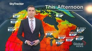 Saskatchewan weather outlook: June 23