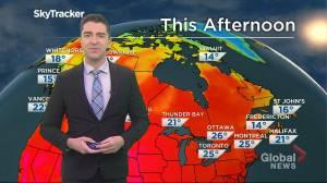 Saskatchewan weather outlook: July 23 (02:45)