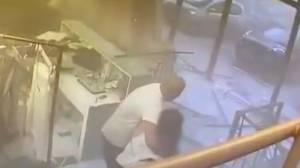 Beirut explosion: CCTV footage captures moment blast slammed into local shops