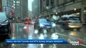 Toronto braces for January rainstorm as GTA pelted with up to 60mm of rain