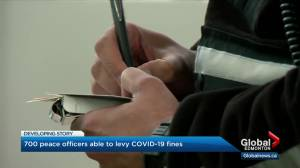 More peace officers to enforce COVID-19 restrictions as Alberta records 1.2K new cases (03:00)