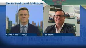 Sask Party on addressing mental health and addictions (04:06)