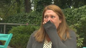 Woman who lost everything to B.C. wildfire speaks about heartbreaking loss (05:50)