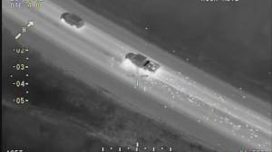 Durham police release helicopter video of chase that spanned 100 kilometres