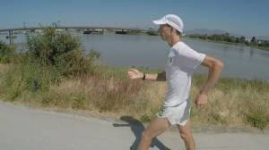 Walk don't run – Evan Dunfee ready for 2nd Olympic Games. (02:17)