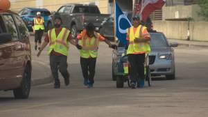 Northern Alberta men set out on walk to Ottawa in honour of MMIWG (01:40)